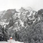 Das Wetter am Sonntag …. viel Schnee und schlechte Sicht
